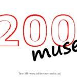 200 muses… Vols ser-ne una?