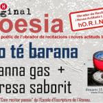 Recital de poesia al bar l'Horiginal de Barcelona: «No té barana»