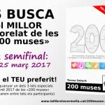Ajuda'm a triar el millor microrelat de les «200 muses»! (1a semifinal)