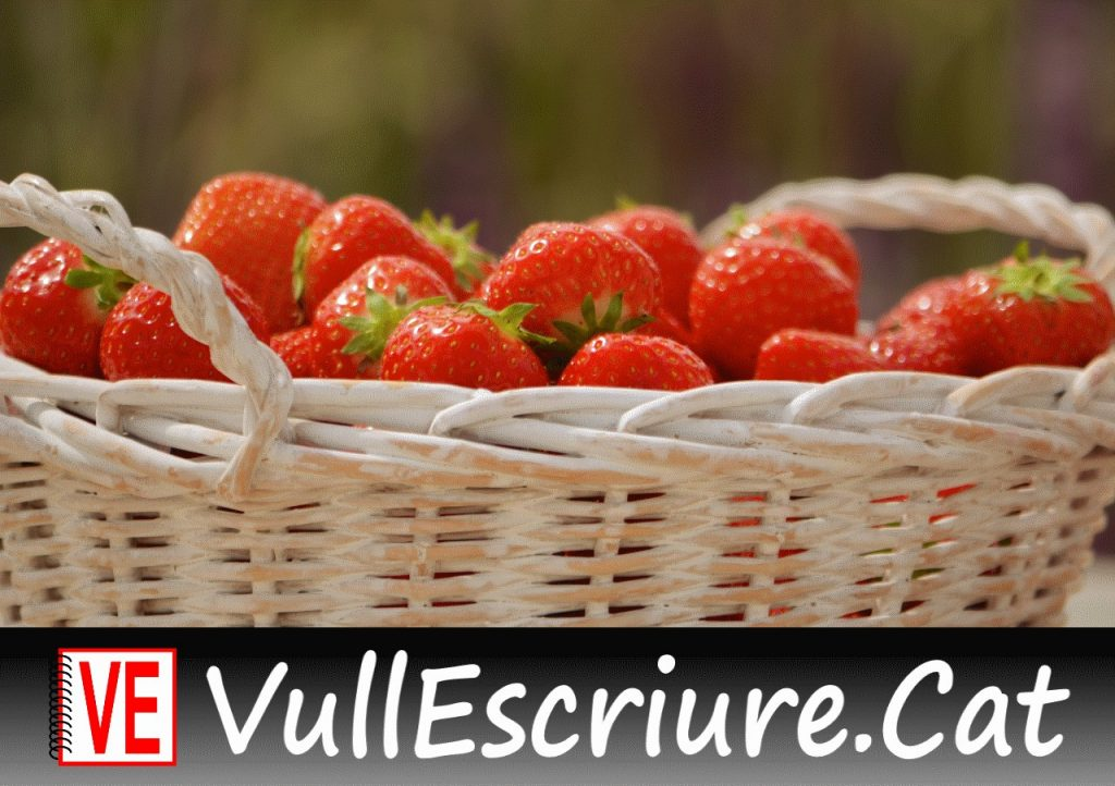 20180201-Vull_Escriure-Caputxeta_Vermella-Popular_frances-Perrault-Strawberry_basket-Daniel_Dudek-Flickr