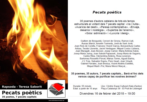 20180213-Recital-Pecats_poetics-Carnaval-Prat_Llobregat-Ira-Avaricia-Peresa-Enveja-Superbia-Gola-Luxuria