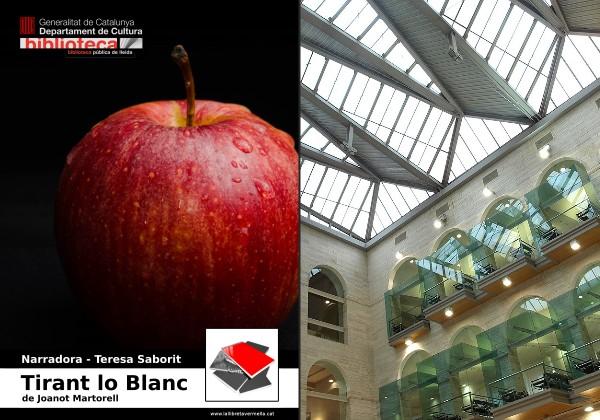 20180510-Tirant_lo_Blanc-Joanot_Martorell-Lectura_veu_alta-Narradora_Teresa_Saborit-Biblioteca_publica_Lleida