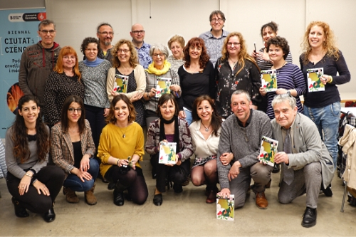 20190413-Llibre_VullEscriure_Sant_Jordi_2019-Presentacio_Barcelona-Enigma_Drac_Alat_escriptors