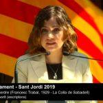 Lletres al Parlament - Sant Jordi 2019