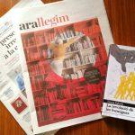 Especial Sant Jordi 2019 – Missatge secret de les formigues al suplement «Ara Llegim»!
