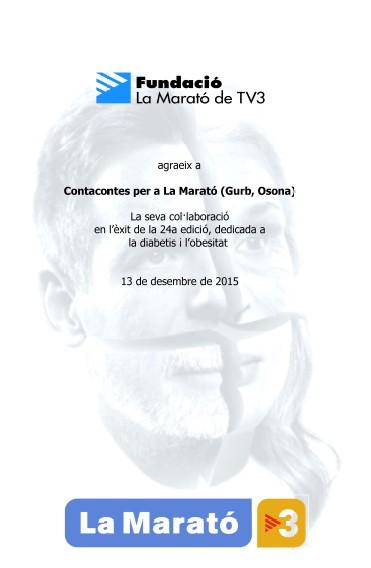 20151220-Contacontes_Gurb_Marato_TV3-Judit_Carrera-Teresa_Saborit-Diploma