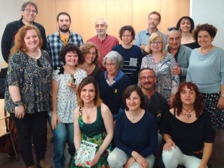 20180421-Sant_Jordi-Teresa_Saborit-Presentacio_llibre_VullEscriure-Biblioteca_Jaume_Fuster