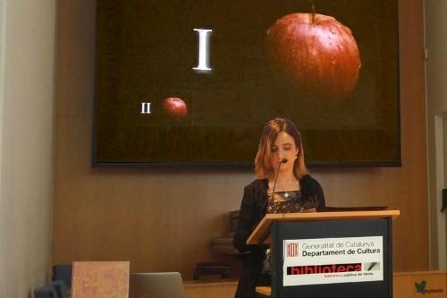 20180516-Tirant_lo_Blanc-Joanot_Martorell-Lectura_veu_alta-Narradora_Teresa_Saborit-Biblioteca_publica_Lleida